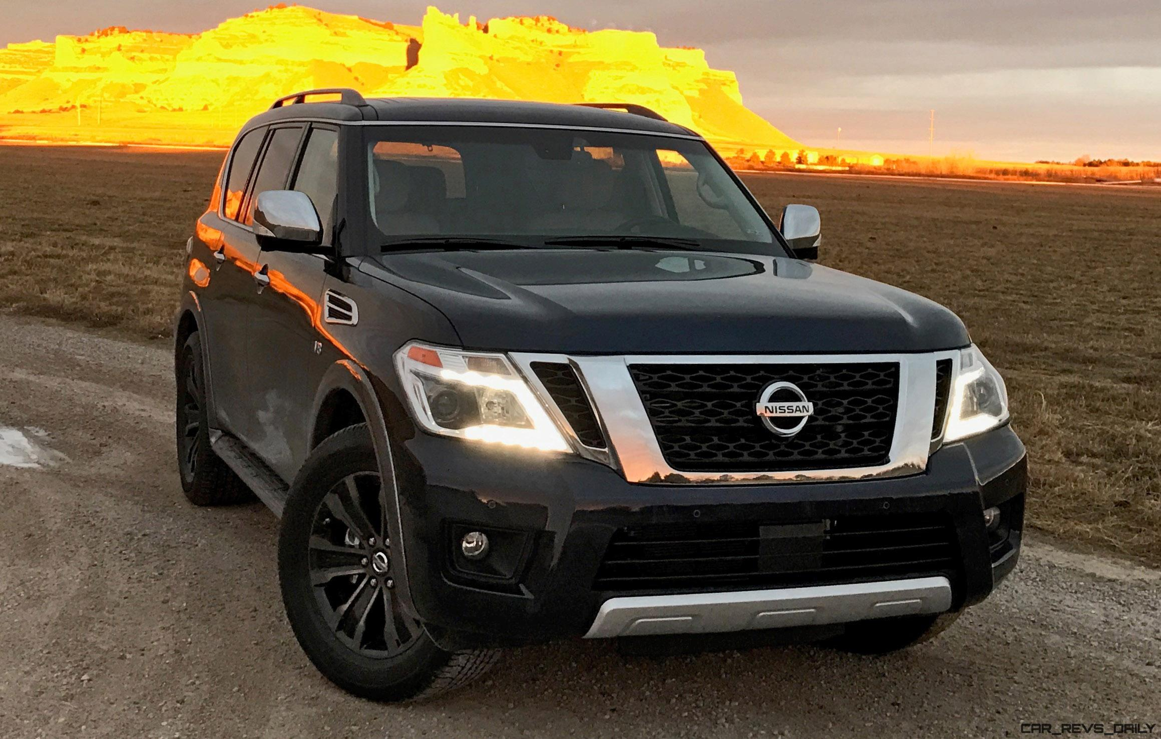 Nissan Armada Road Test Review By Tim Esterdahl