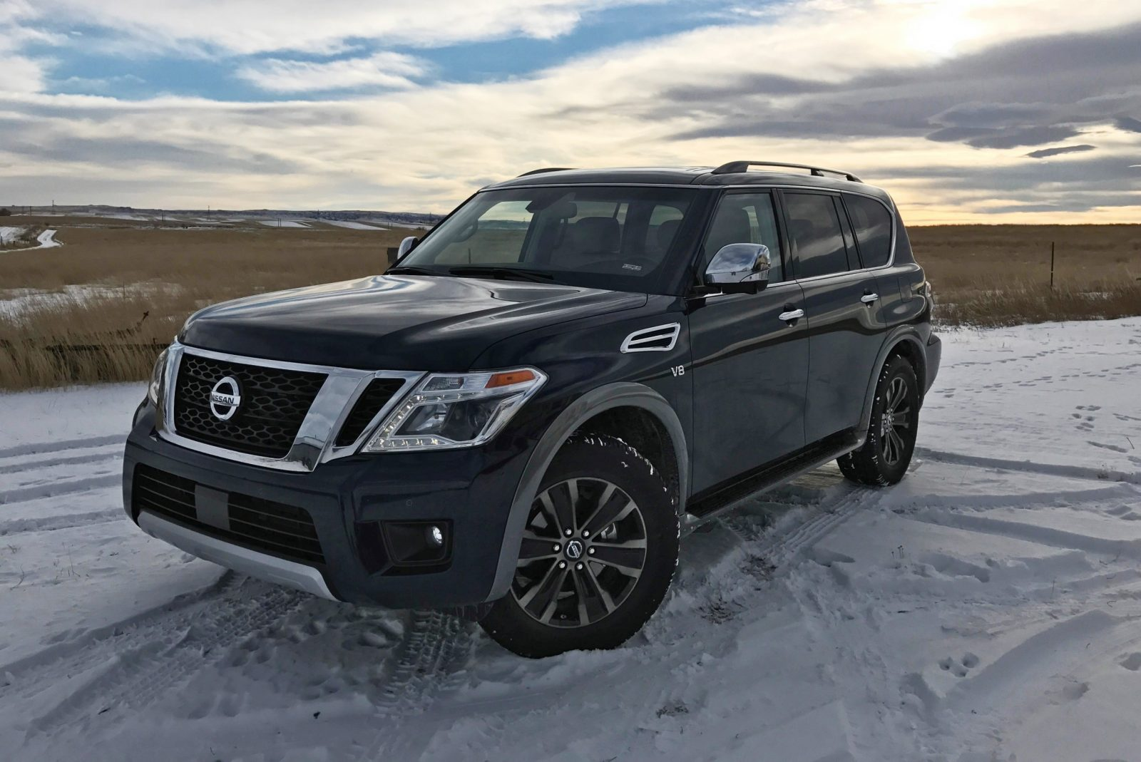 2017 Nissan Armada Platinum Road Test Review By Tim