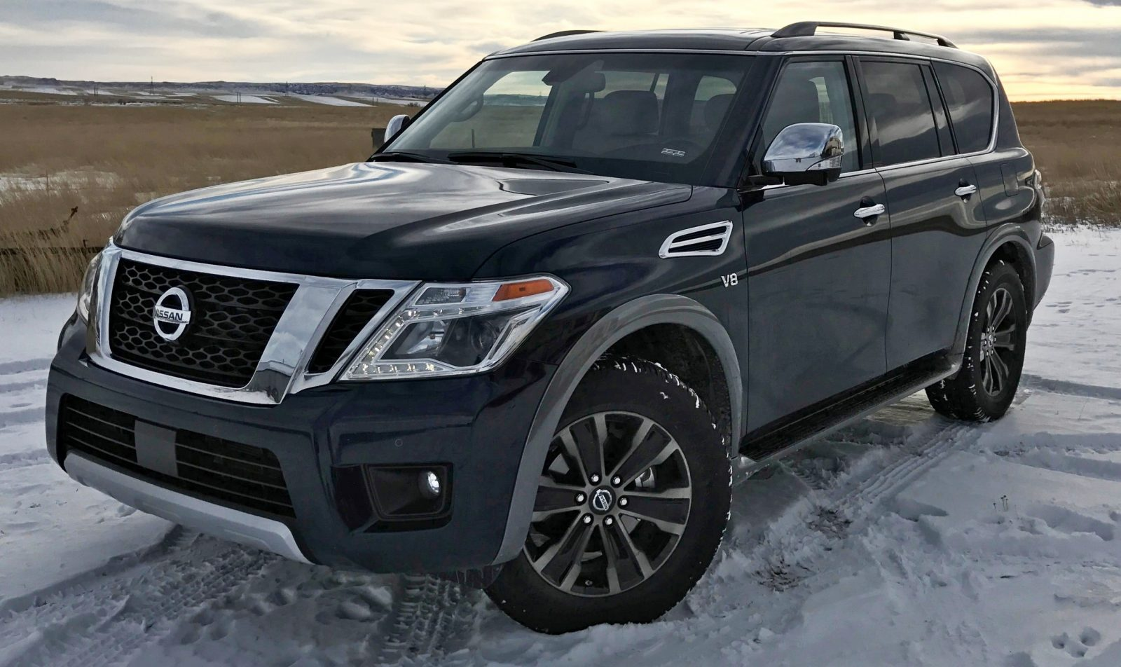 2017 nissan armada road test review by tim esterdahl 5. Black Bedroom Furniture Sets. Home Design Ideas