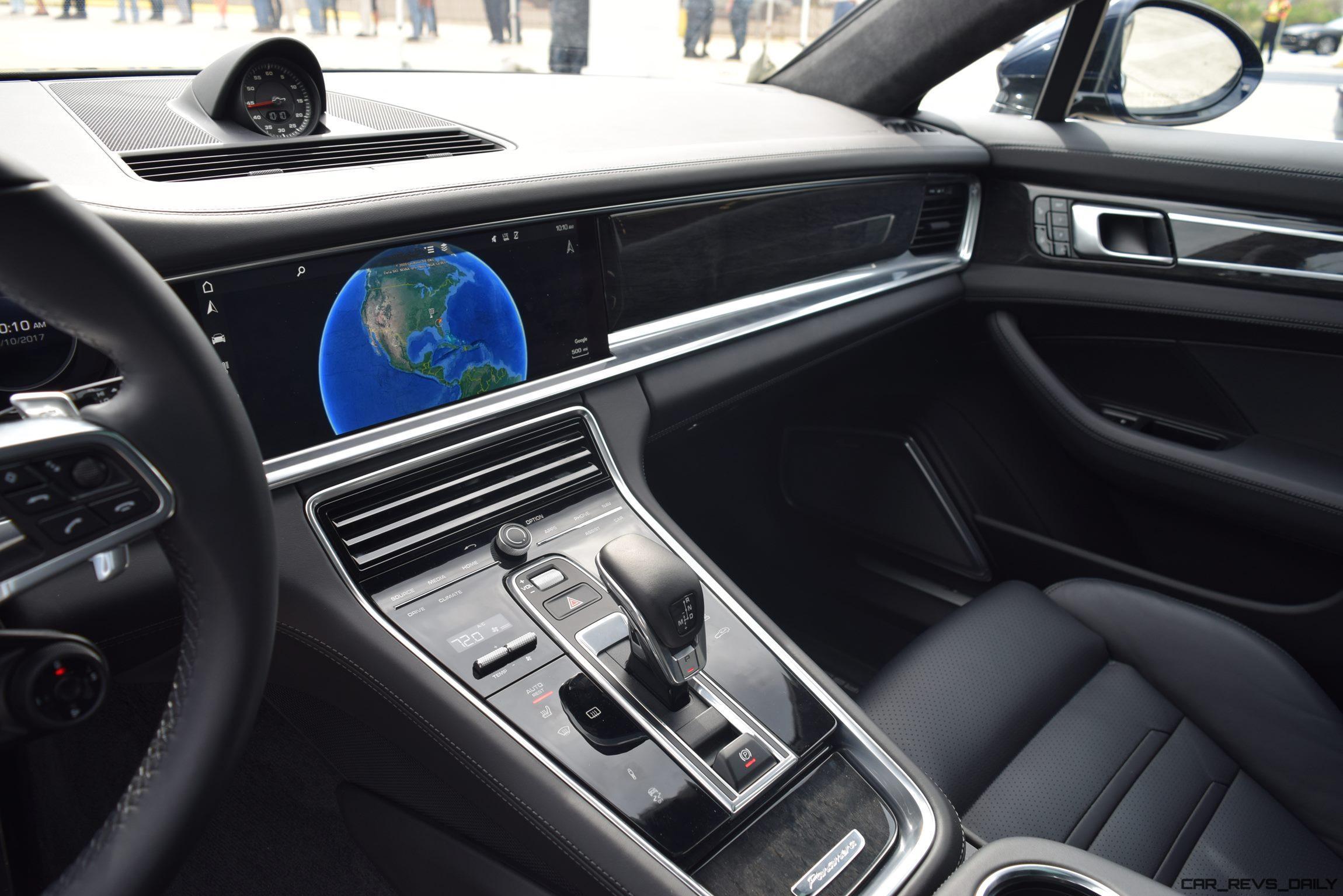 Porsche Panamera Turbo 2019 Interior