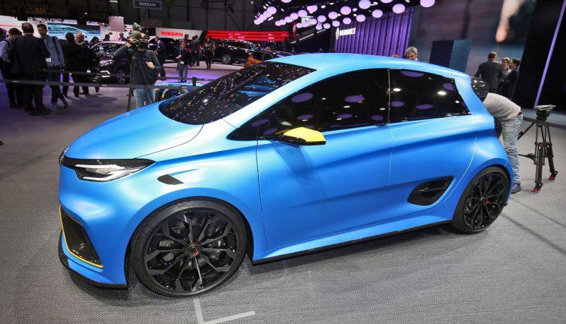 2017 Renault ZOE E-Sport 2