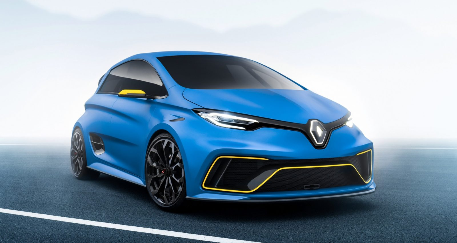 2017 renault zoe e sport concept is geneva highlight latest news. Black Bedroom Furniture Sets. Home Design Ideas
