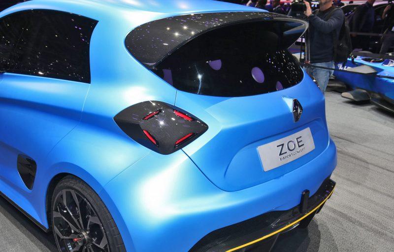 2017 Renault ZOE E-Sport 4