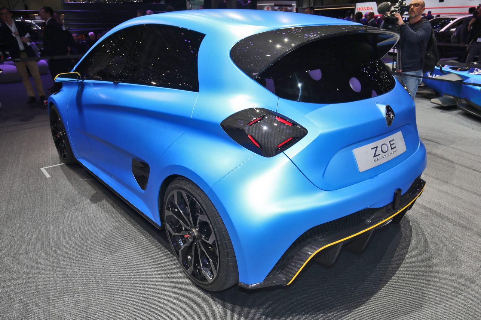 2017 Renault ZOE E-Sport 5