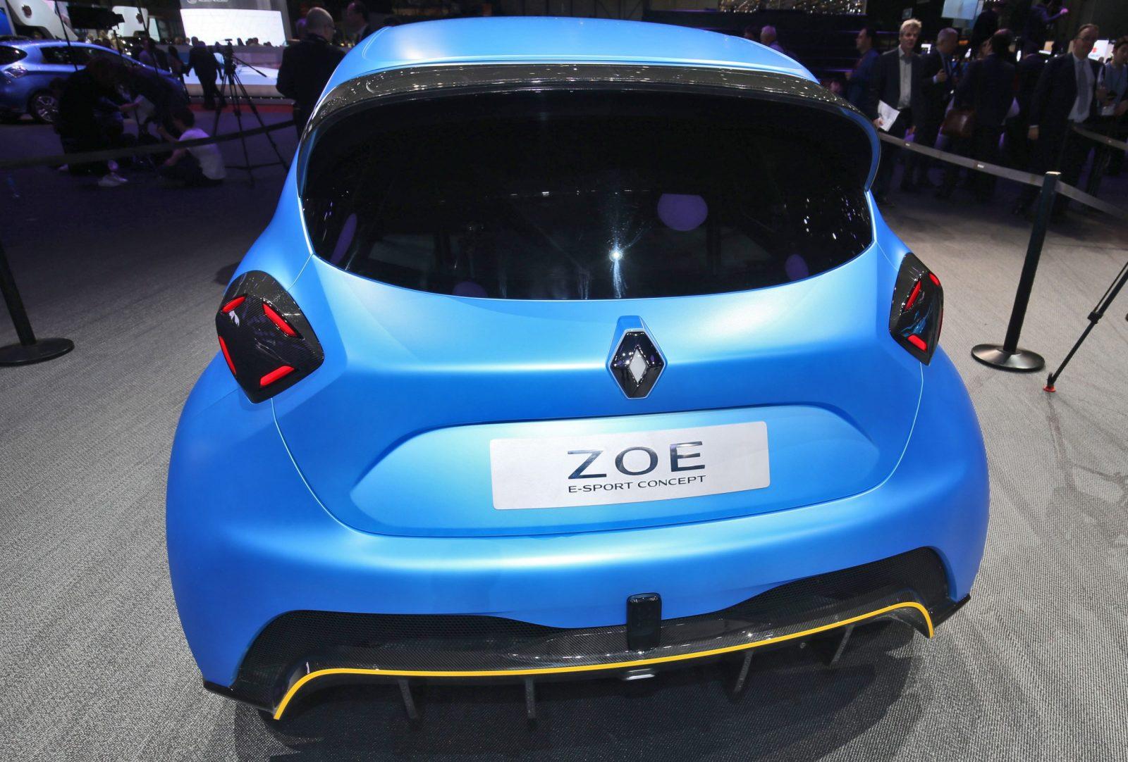 2017 Renault ZOE E-Sport 6
