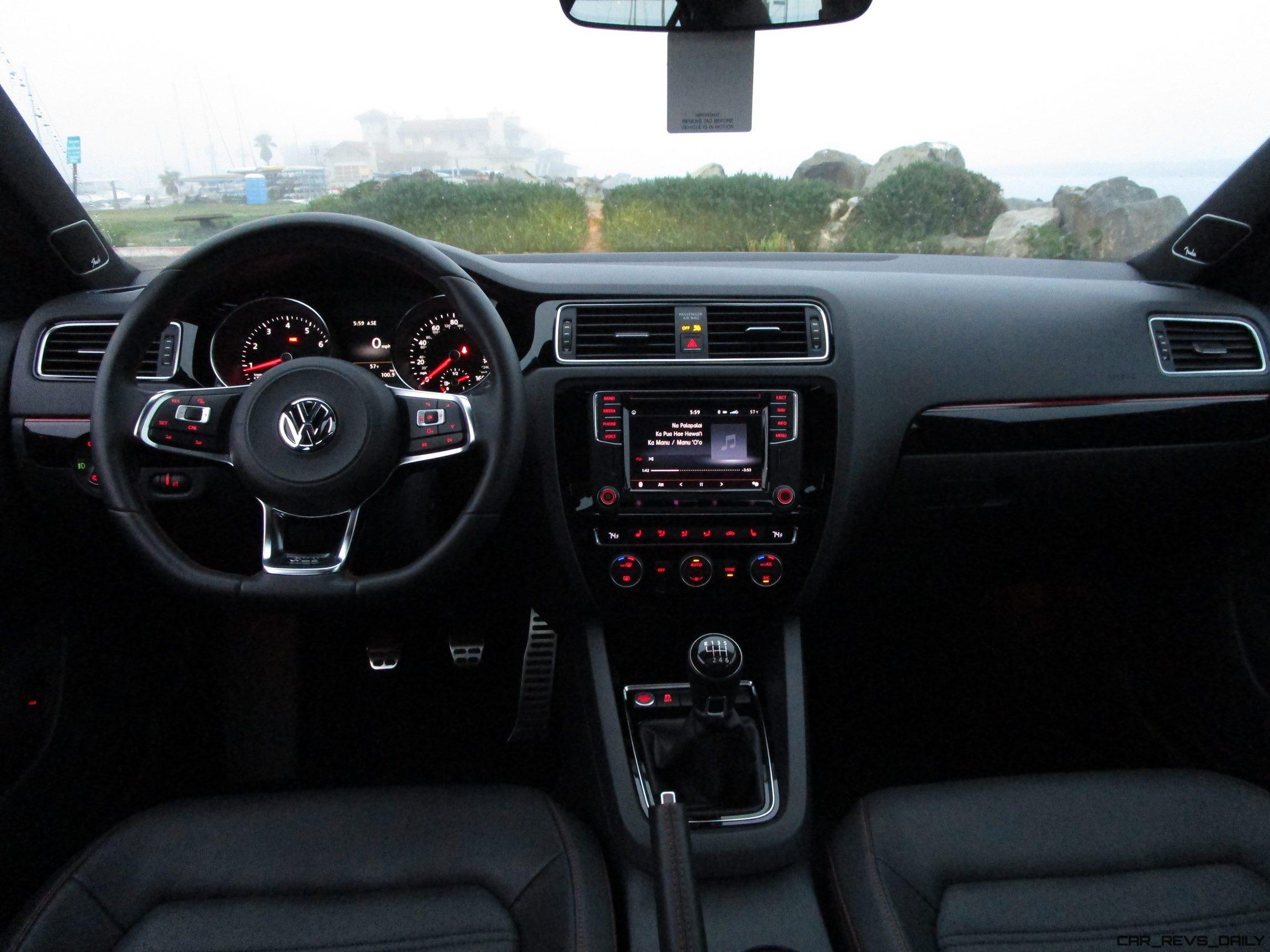 2017 VW GLI Interior Ben Lewis 11