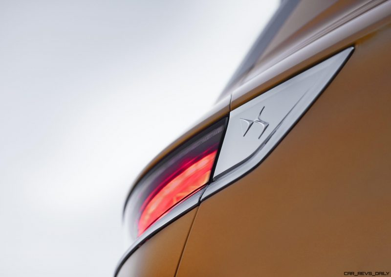 20170228 DS 7 CROSSBACK - rear light close-up