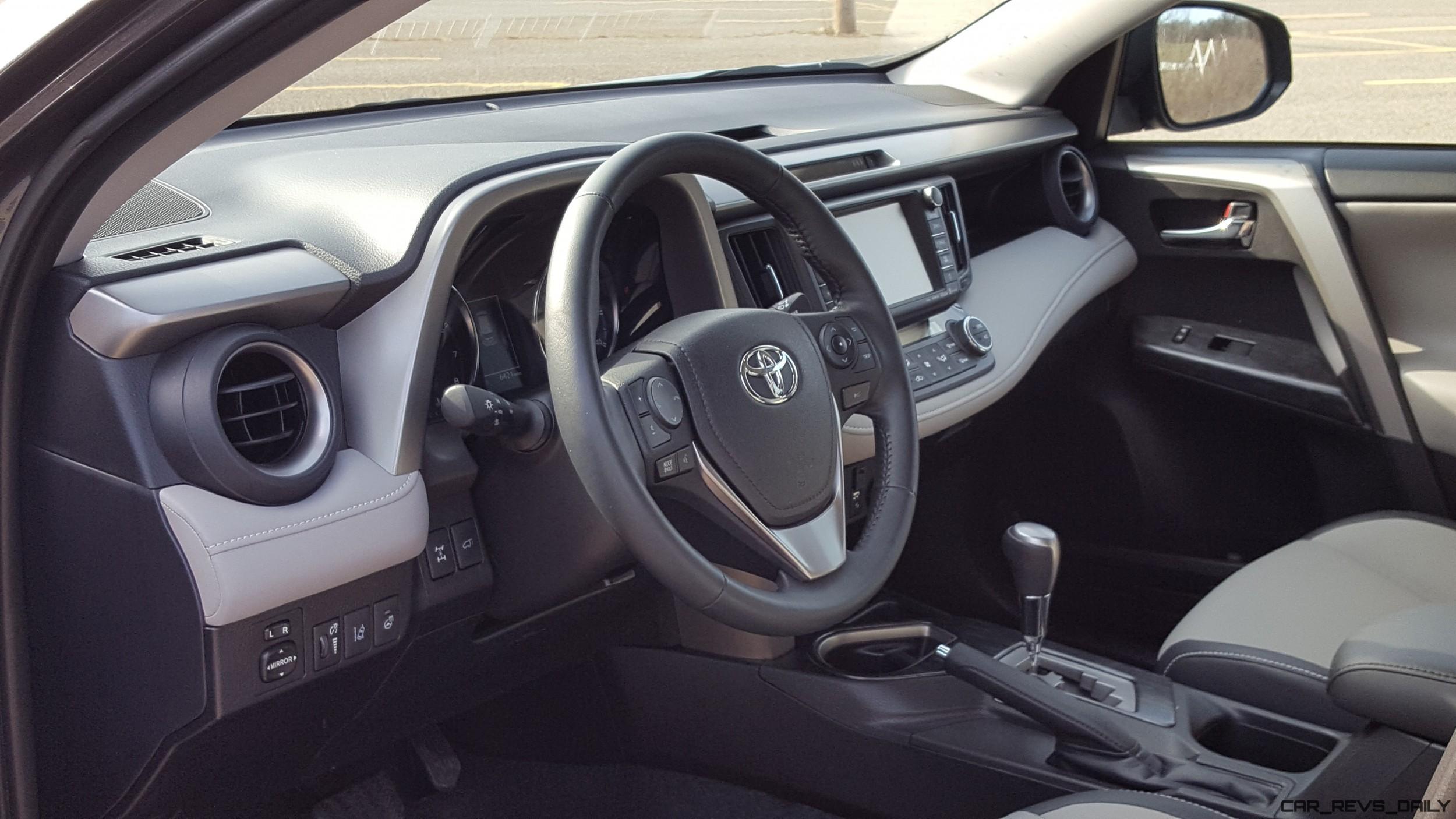2017 Toyota Rav4 Platinum Road Test Review By Carl Malek Car Revs