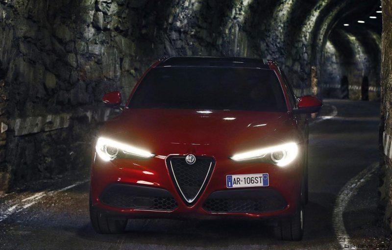2018 Alfa Romeo Stelvio 70 Dynamic Pics On Namesake Road Car