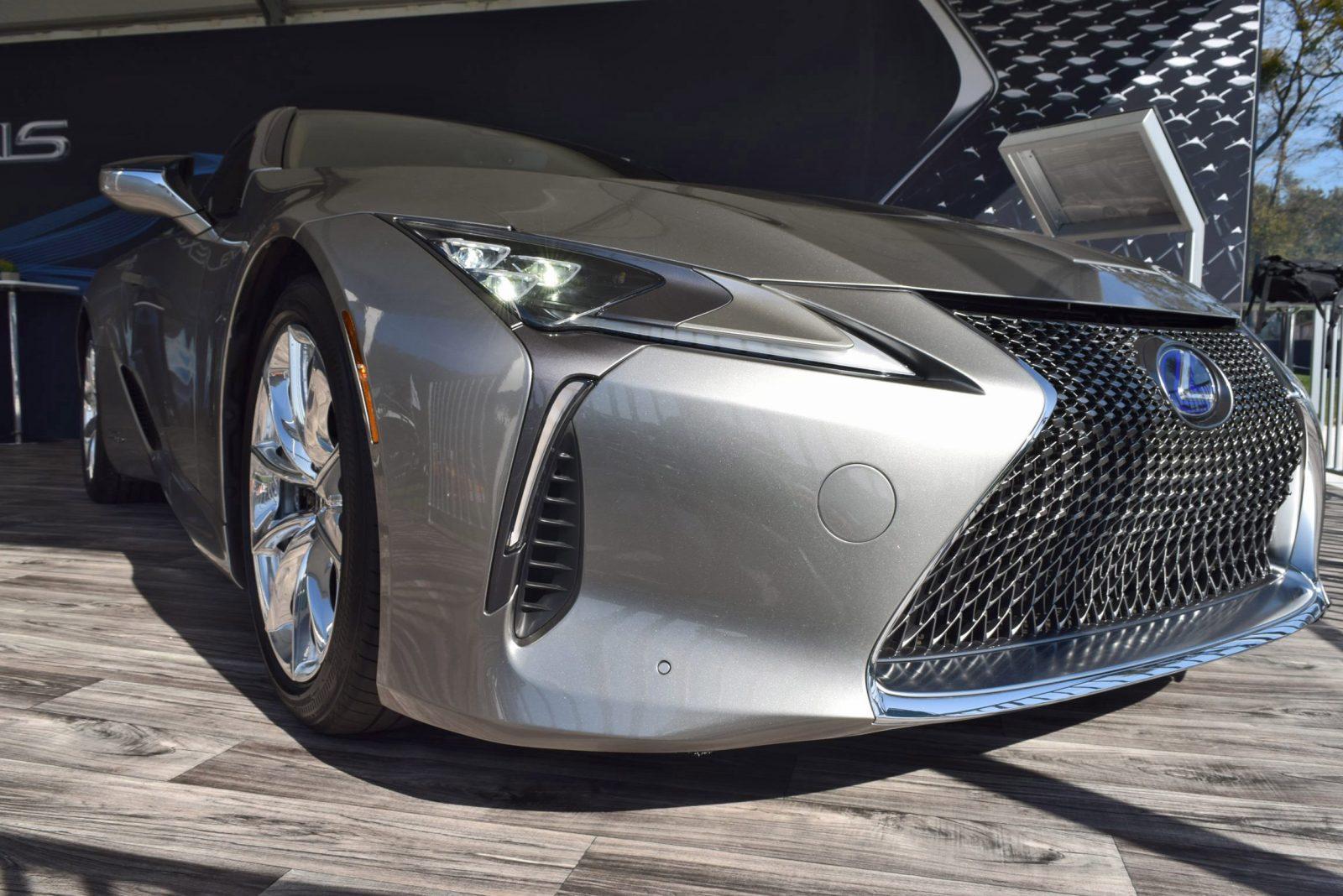 2018 Lexus LC500h Exterior Amelia 13