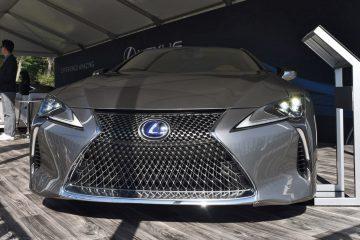 2018 Lexus LC500h at Amelia Island Concours [44 Photos]