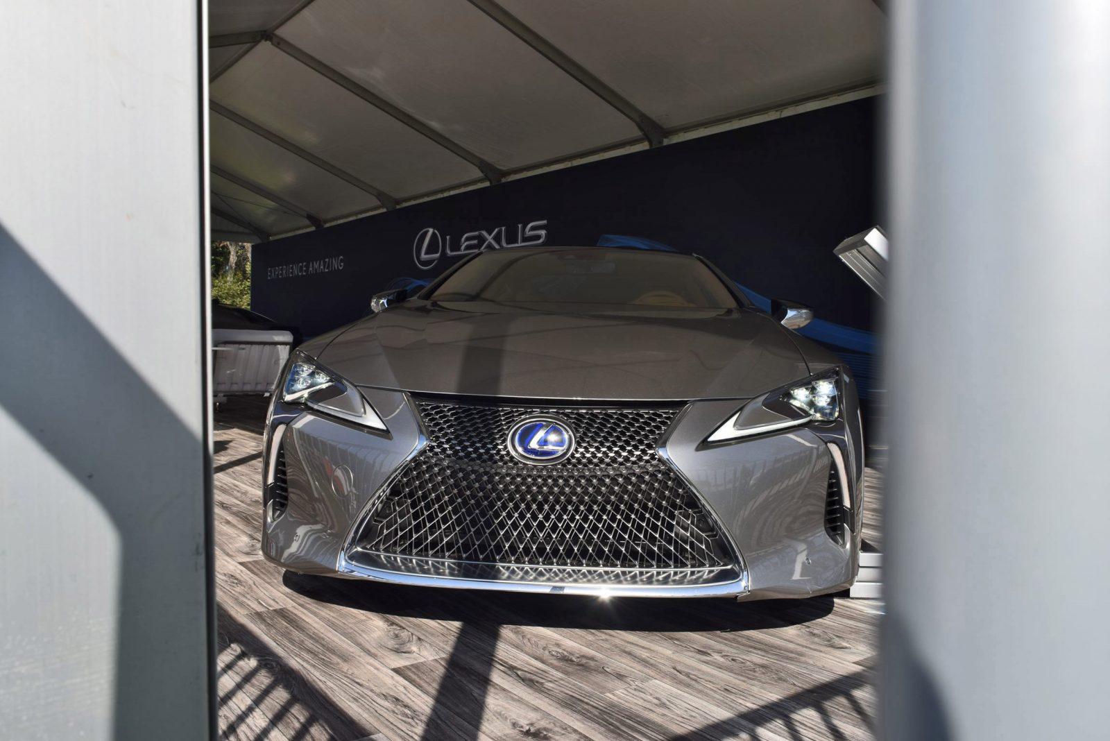 2018 Lexus LC500h Exterior Amelia 15