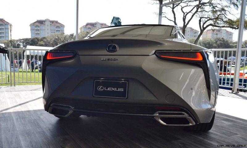 2018 Lexus LC500h Exterior Amelia 22