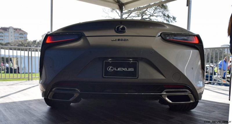 2018 Lexus LC500h Exterior Amelia 24