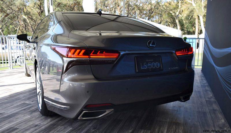 2018 Lexus LS500 12