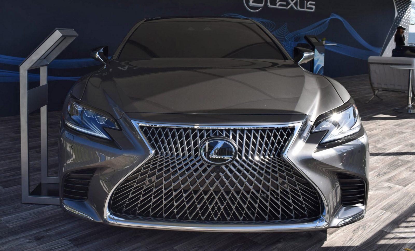 2018 Lexus LS500 21