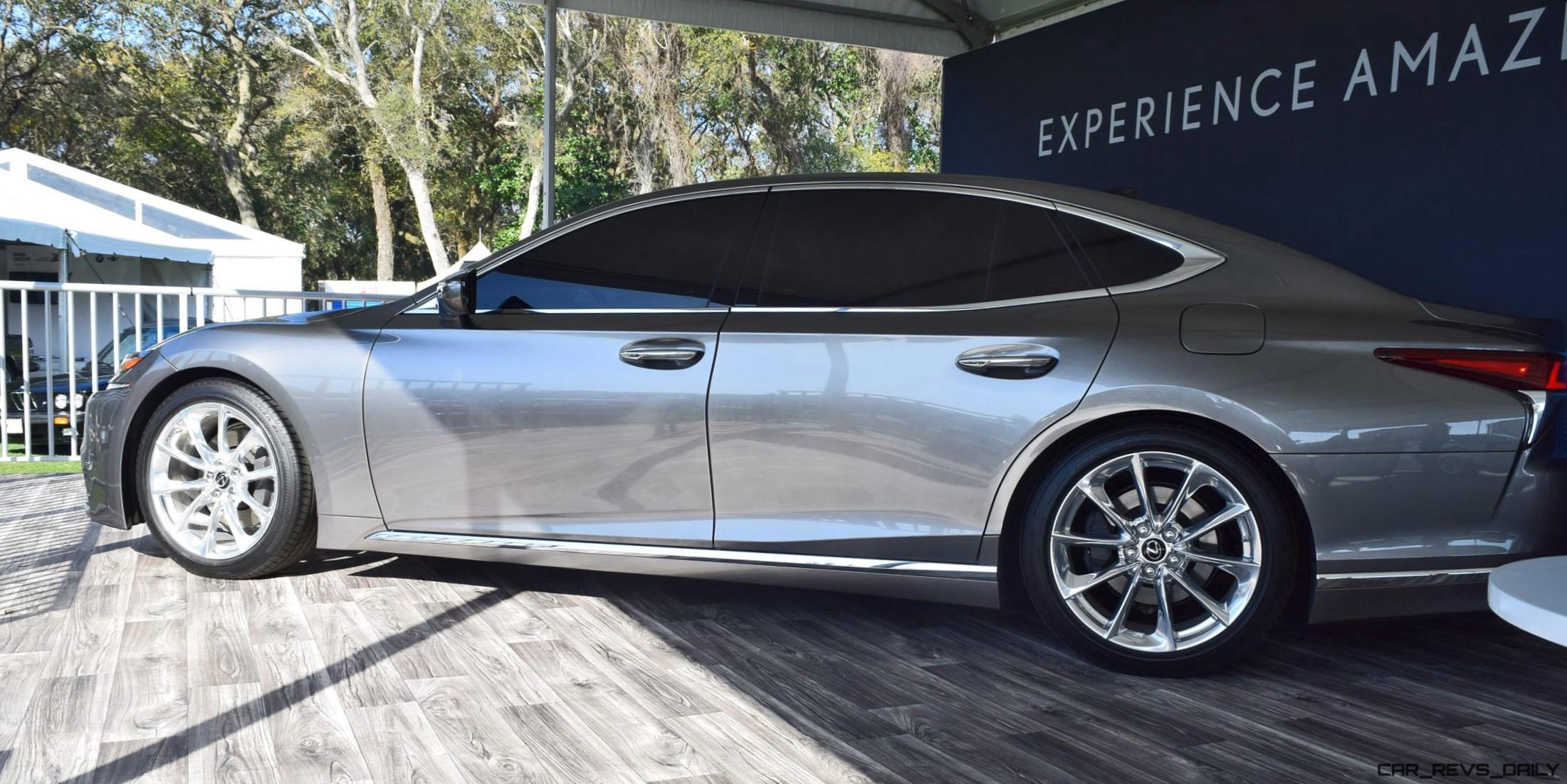 Design Analysis: 2018 Lexus LS500 at Amelia Island ...