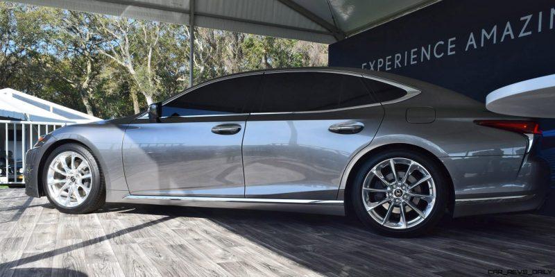 2018 Lexus LS500 8