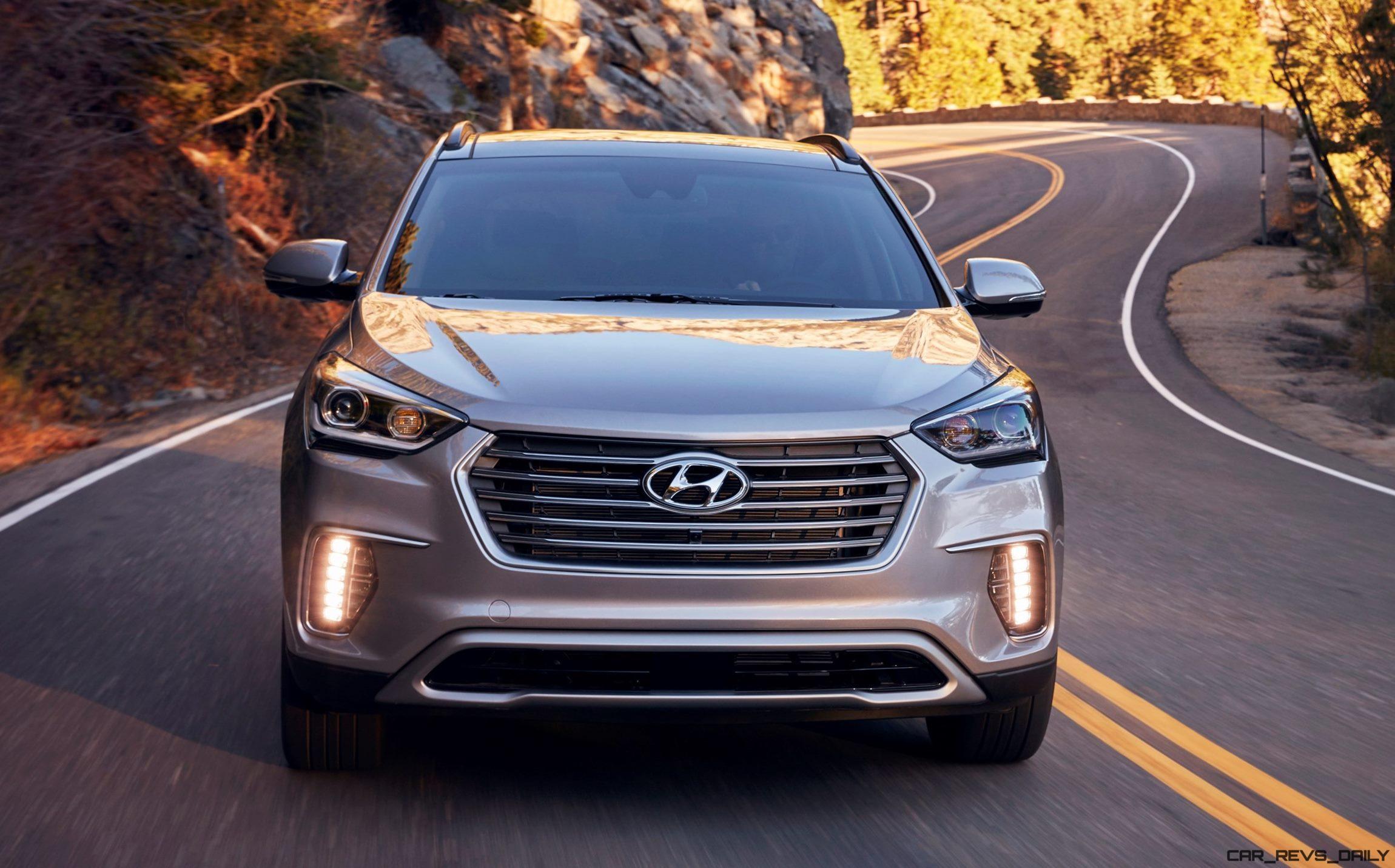 Wonderful 2017 Hyundai SANTA FE Ultimate  Road Test Review  By Tim