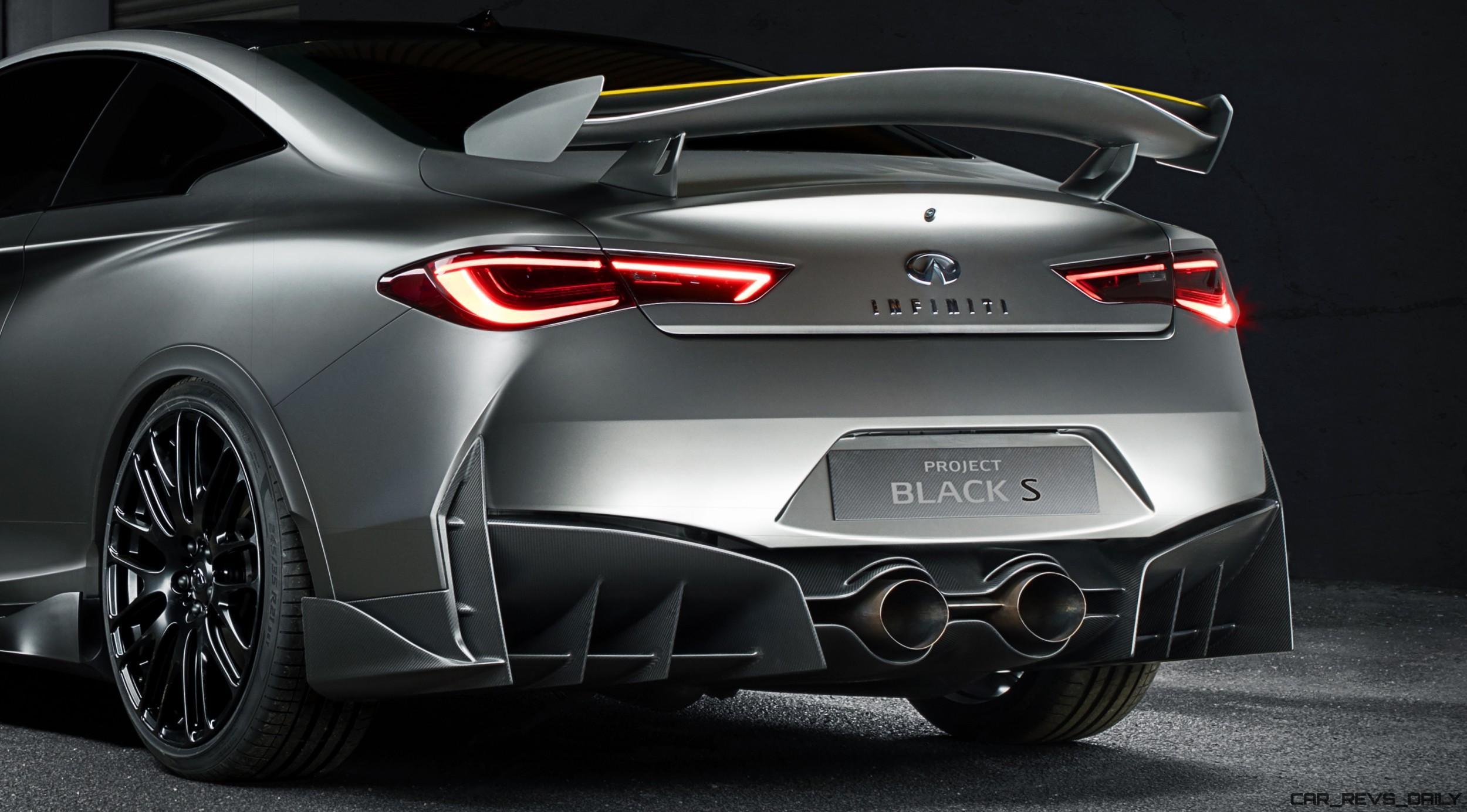 2017 Infiniti Q60 Black S Concept