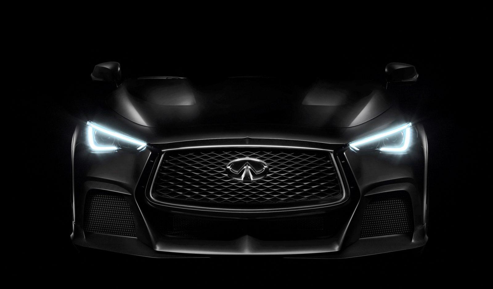 2017 Infiniti Q60 Project Black S Concept