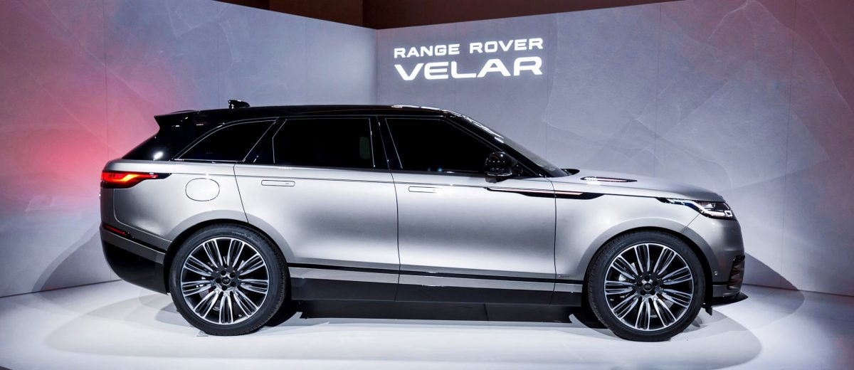 2018 Range Rover Velar World Debut W Video Car Shopping
