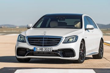 3.4s, 186MPH 2018 Mercedes-AMG S63 Scores Full Drivetrain Makeover