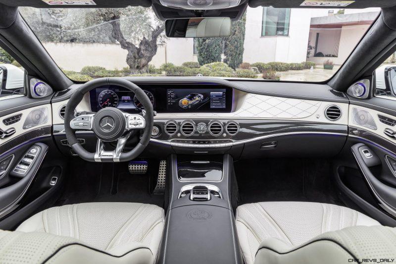 mercedes amg s 63 4matic interieur leder nappa exclusive porcellan schwarz kraftstoffverbrauch kombiniert 89 l100 km co2 emissionen kombiniert 203