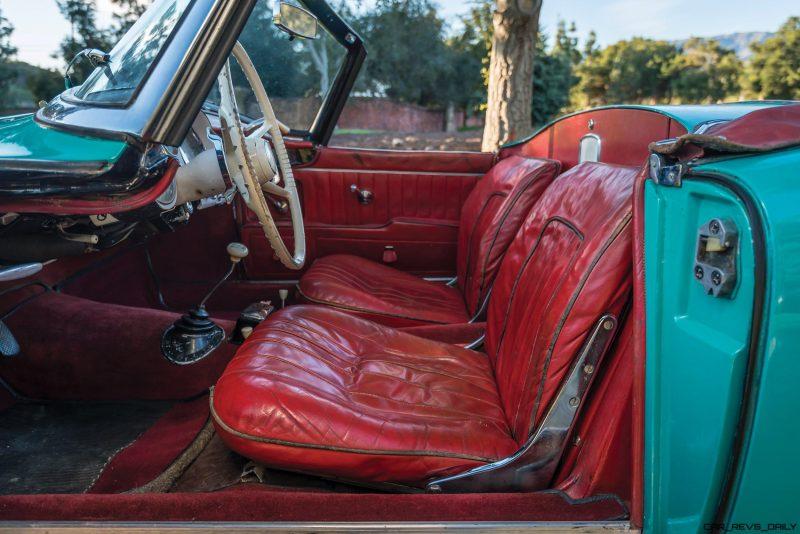 1957 BMW 507 Roadster Series I - RM Sotheby's Villa Erba 2017 11