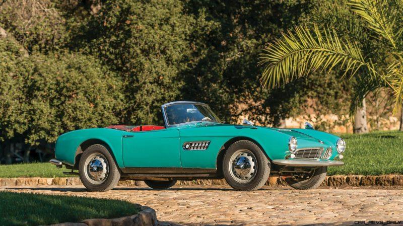 1957 BMW 507 Roadster Series I - RM Sotheby's Villa Erba 2017 21