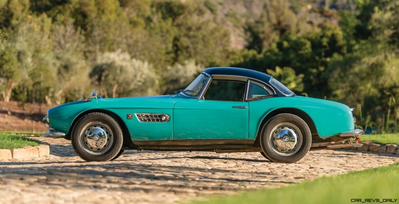 1957 BMW 507 Roadster Series I - RM Sotheby's Villa Erba 2017 23
