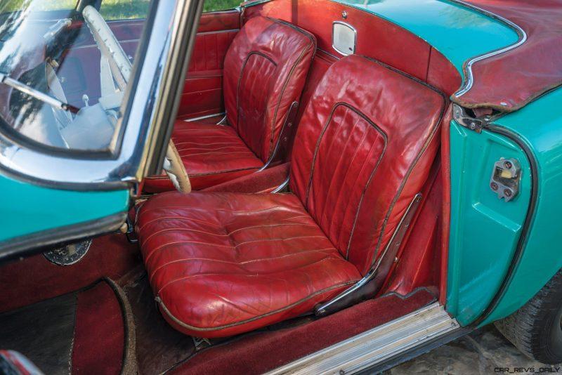 1957 BMW 507 Roadster Series I - RM Sotheby's Villa Erba 2017 37