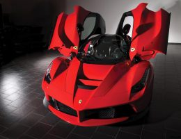 Never-Driven 2014 Ferrari LaFerrari Joins RM Sothebys Villa Erba 2017 Sale