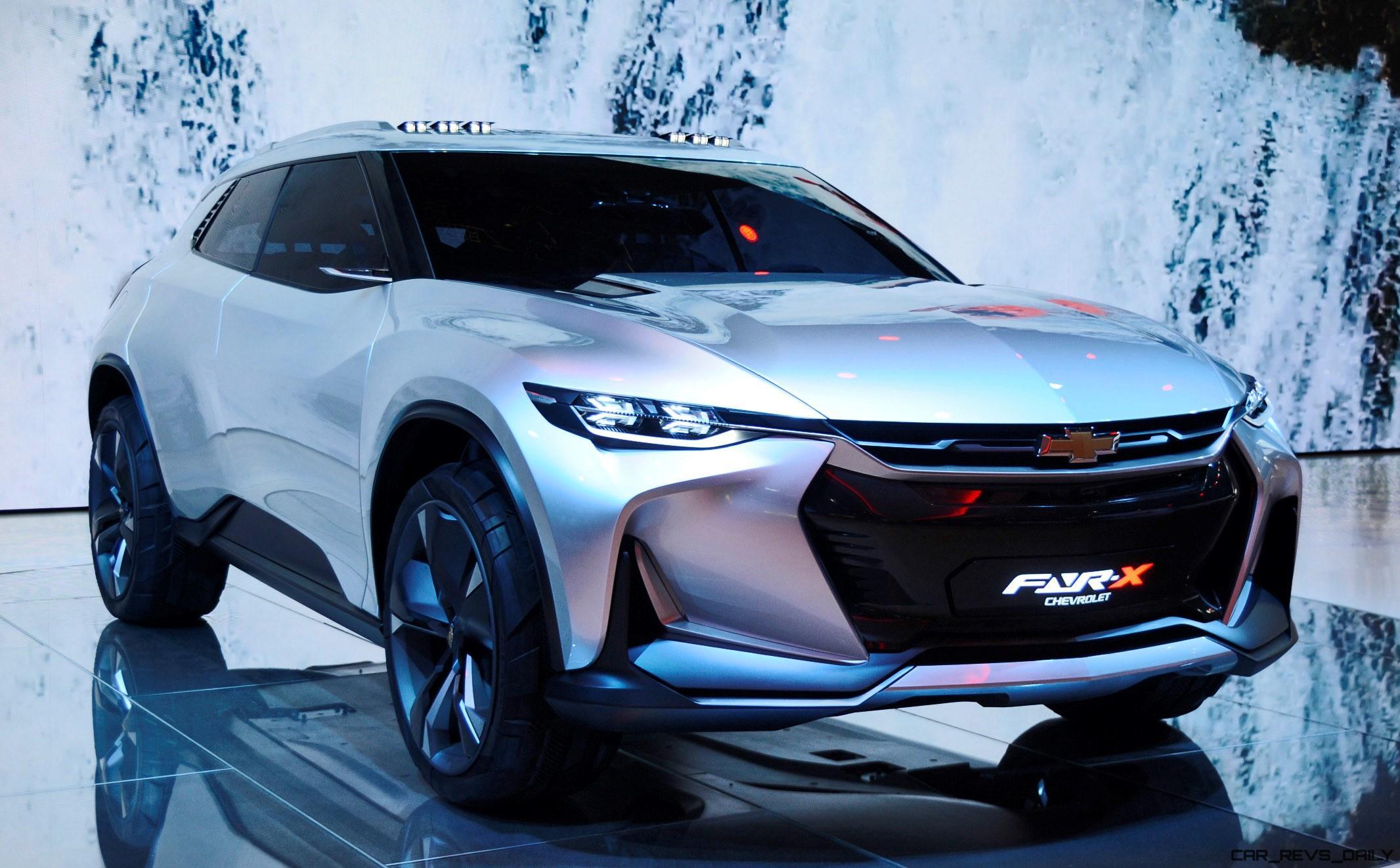 2017 Chevrolet FNR-X Concept [18 Photos