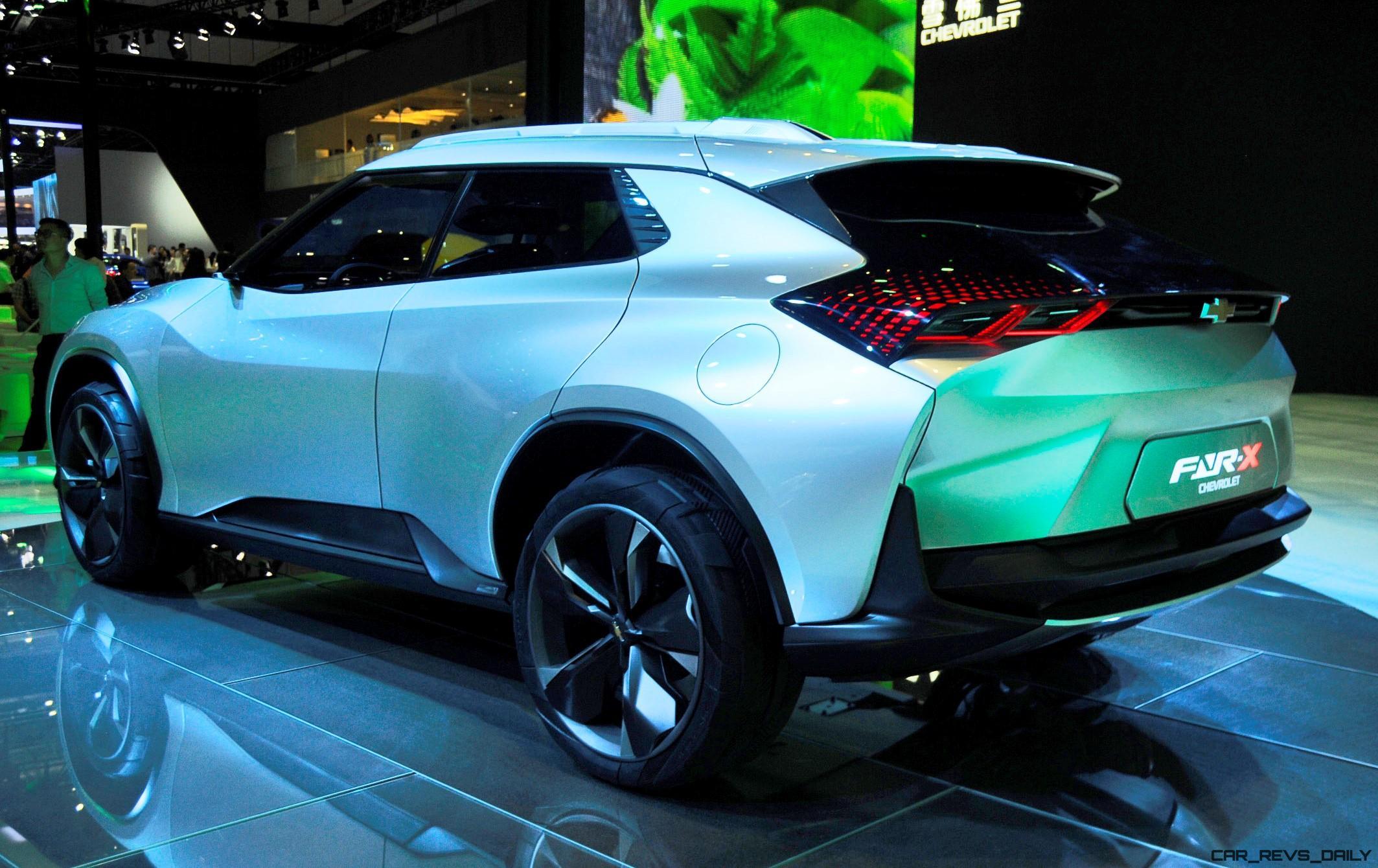 Best Of Shanghai 2017 Chevrolet Fnr X Concept 18 Photos The Electric Car