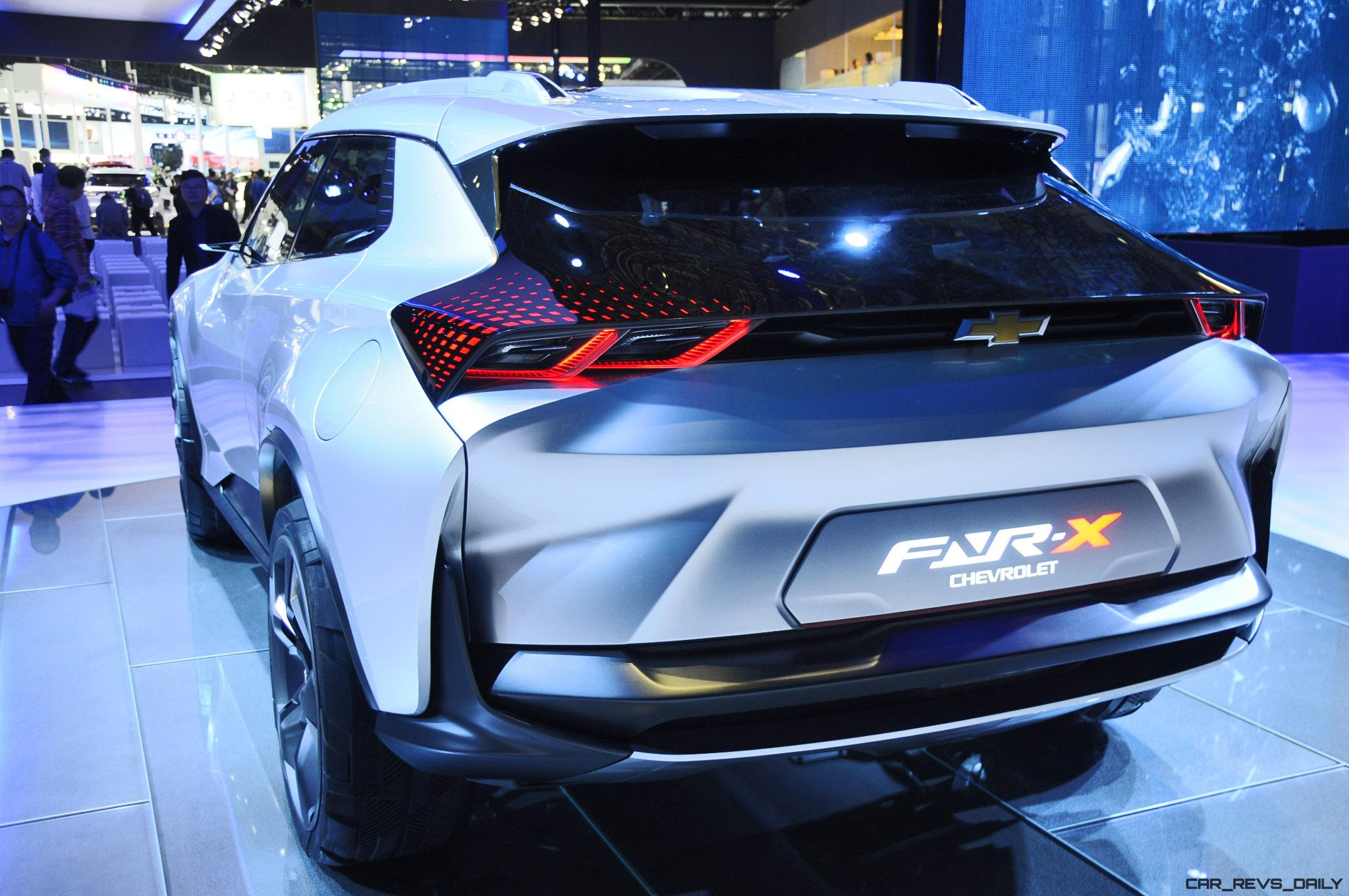 Best Of Shanghai 2017 Chevrolet Fnr X Concept 18 Photos Car
