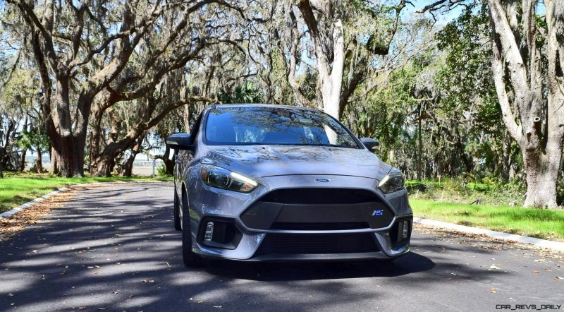 2017 FORD FOCUS RS Stealth Grey 1