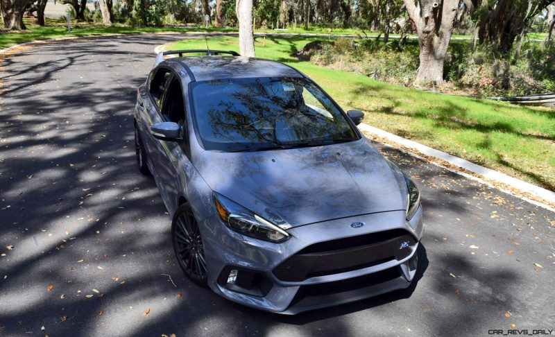 2017 FORD FOCUS RS Stealth Grey 12