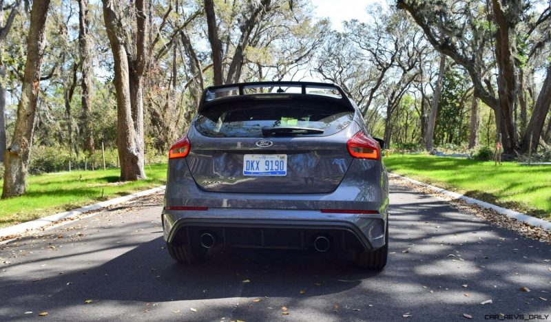 2017 FORD FOCUS RS Stealth Grey 16