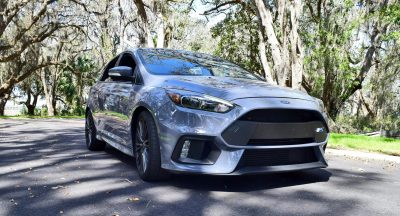 2017 FORD FOCUS RS Stealth Grey 2