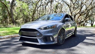 2017 FORD FOCUS RS Stealth Grey 5