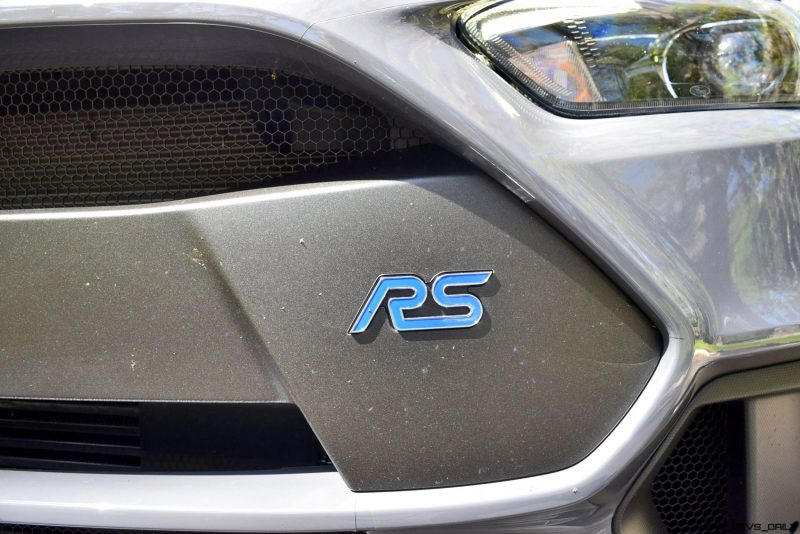 2017 FORD FOCUS RS Stealth Grey 7