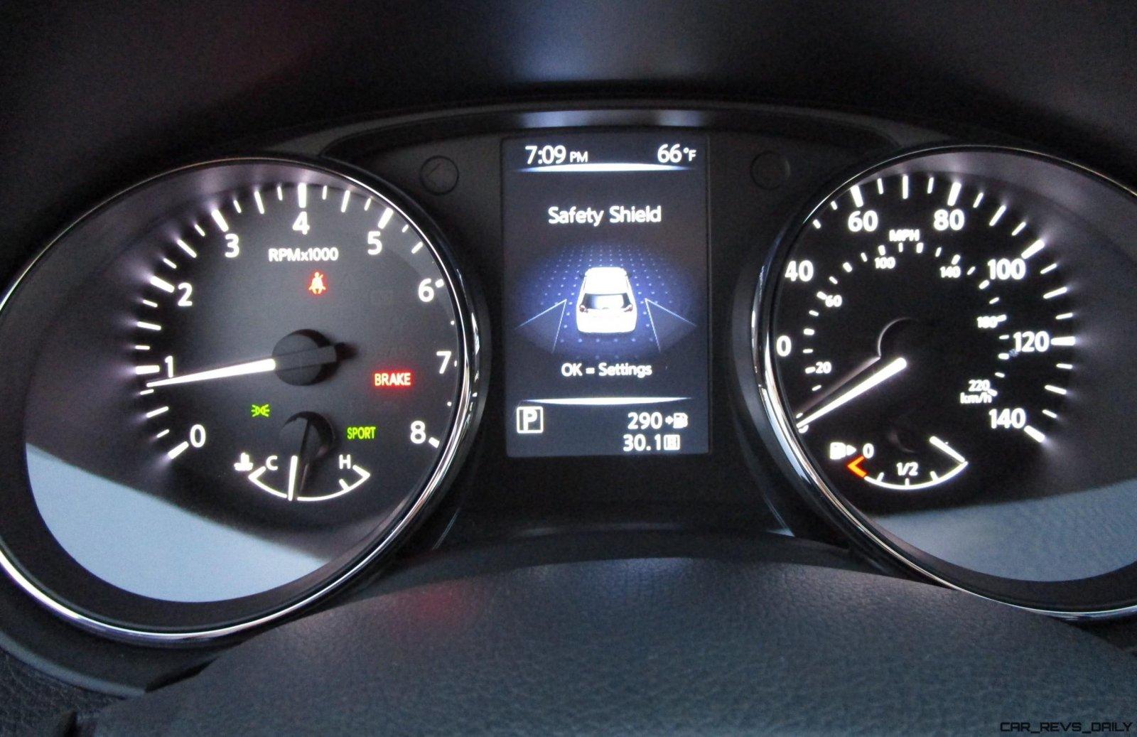 2017 Nissan Rogue Interior 7