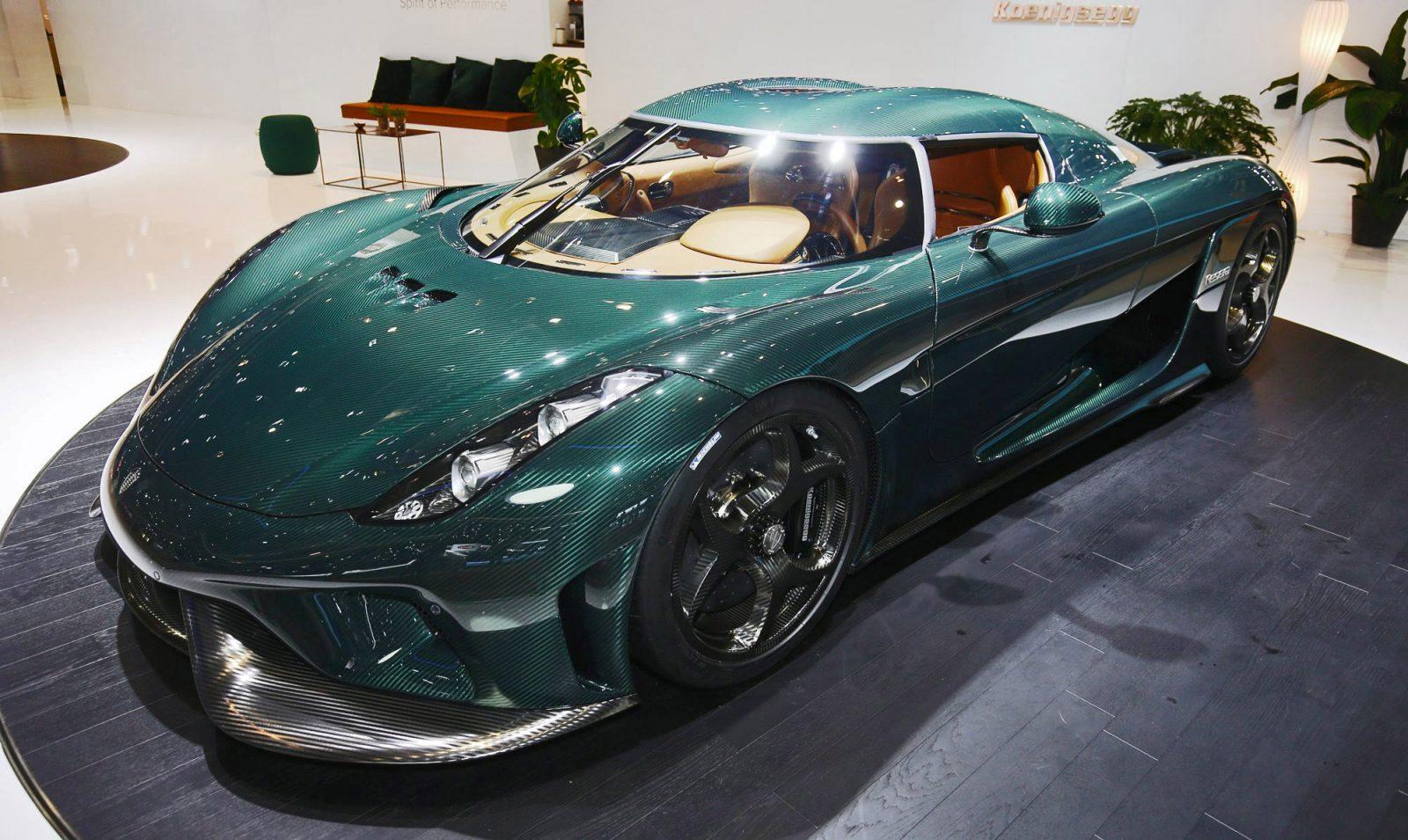 Koenigsegg Presents Production Spec Regera Agera Final
