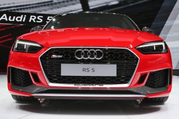 3.7s, 450HP 2018 Audi RS5 Scores Snarling New V6TT, Tech and Style