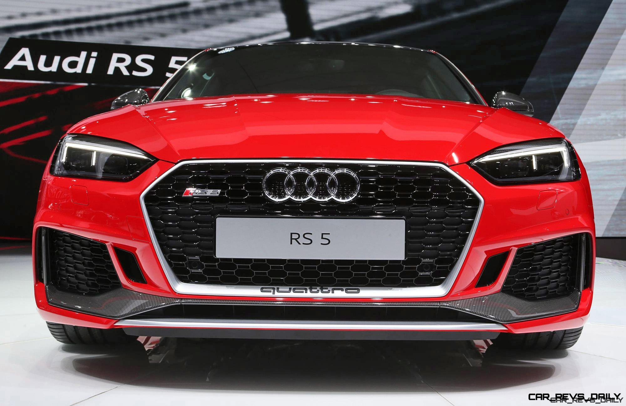 S HP Audi RS Scores Snarling New VTT Tech And Style - Audi rs5 2018