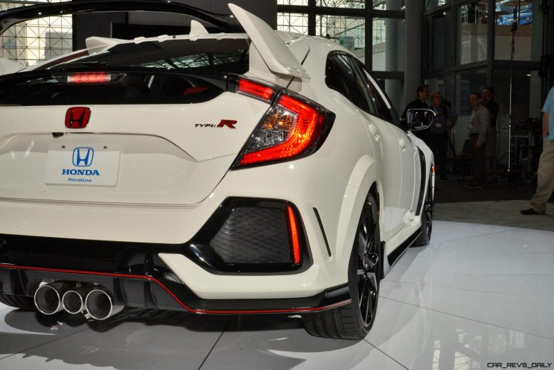 2017 Honda Civic Type R - 20-Photo USA Debut Gallery w/Video » Best of 2017 Awards