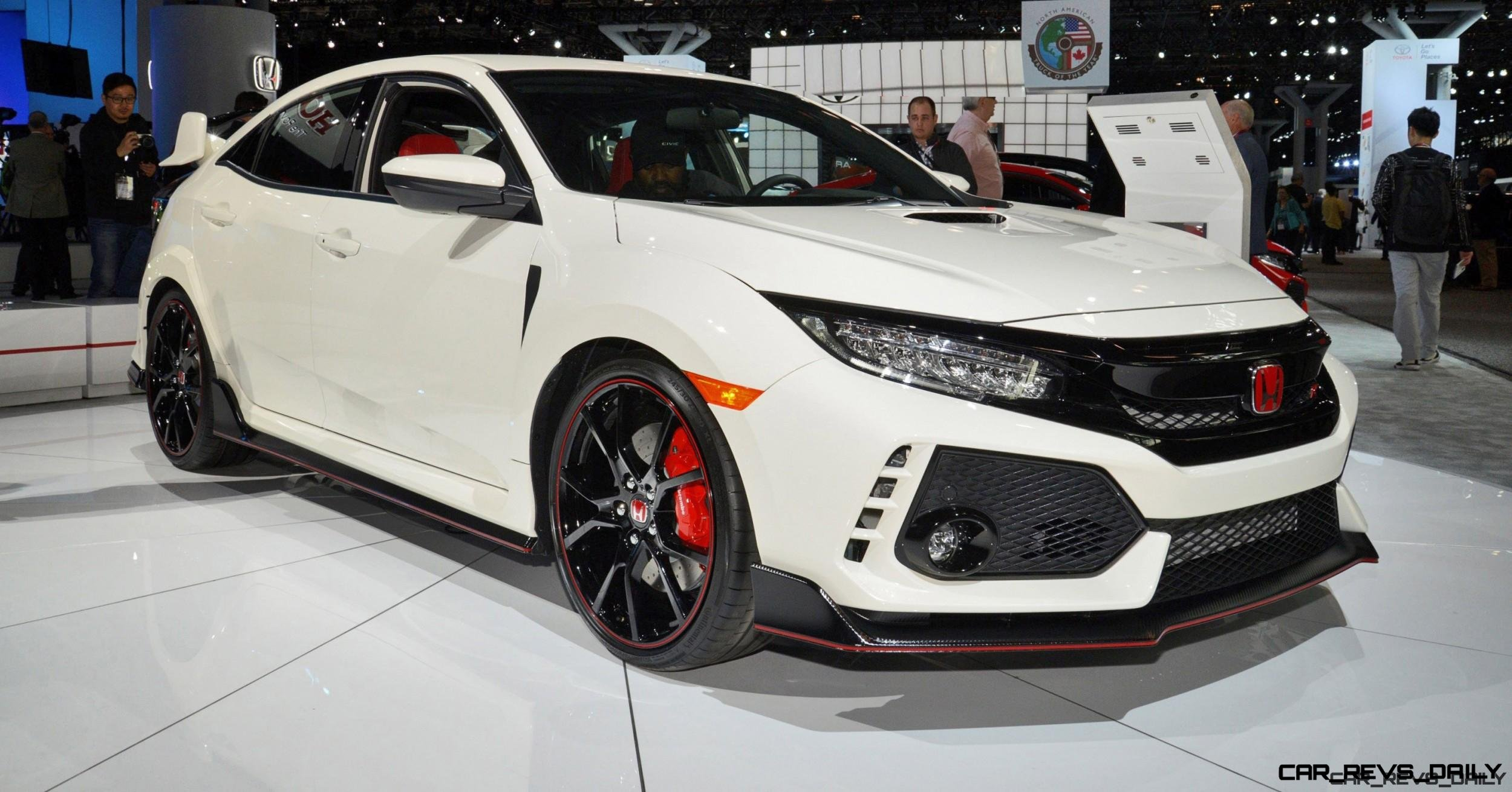 Honda Civic Type R Release Date Usa >> 2017 Honda Civic Type R 20 Photo Usa Debut Gallery W Video