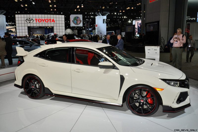 2017 honda civic type r 20 photo usa debut gallery w video. Black Bedroom Furniture Sets. Home Design Ideas