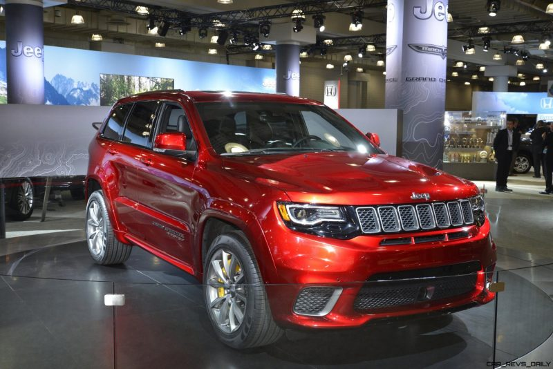 2018 Jeep SRT TrackHawk 13